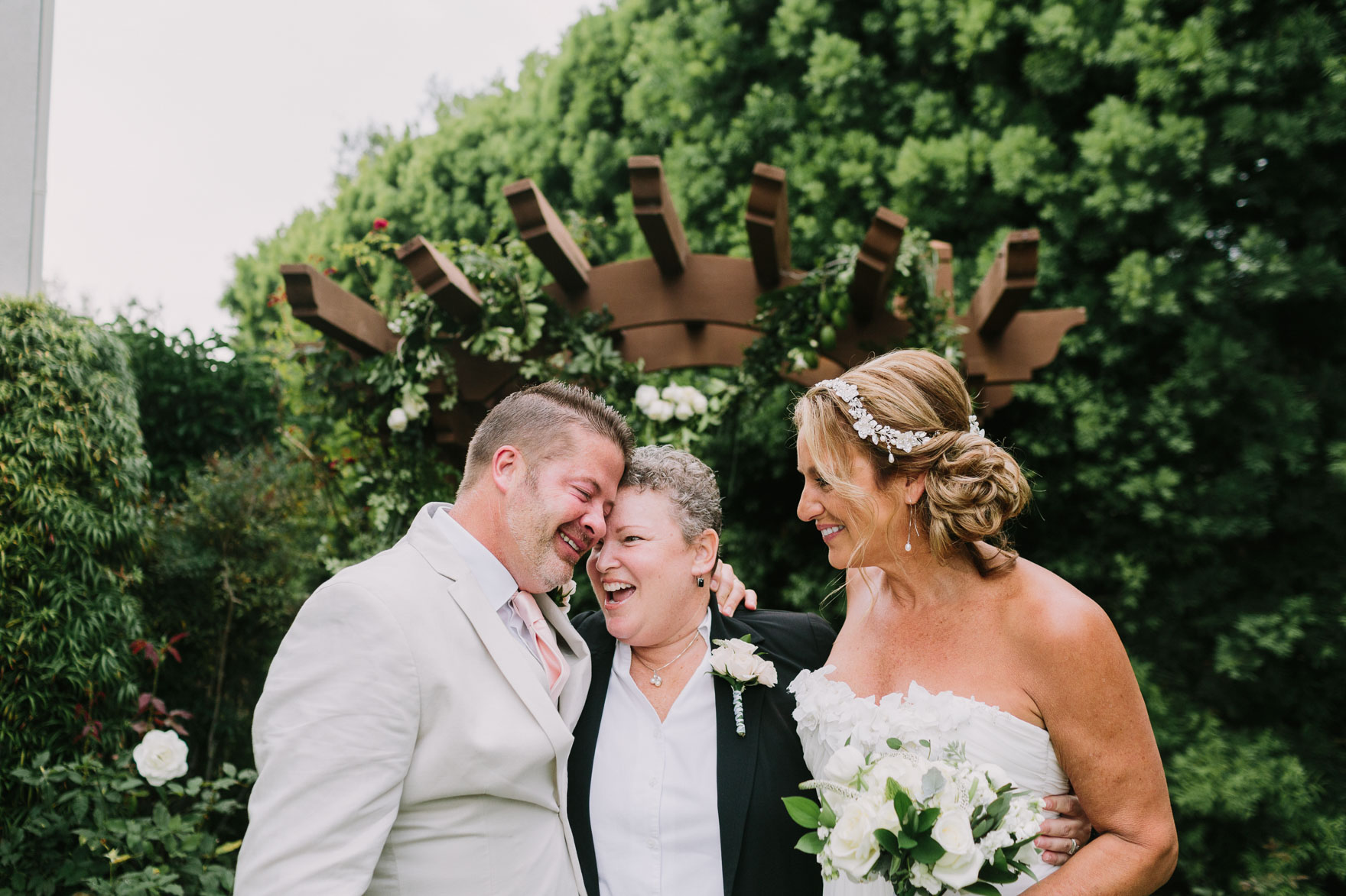 Tender Backyard Elopement Fun – Photo by Let's Frolic Together
