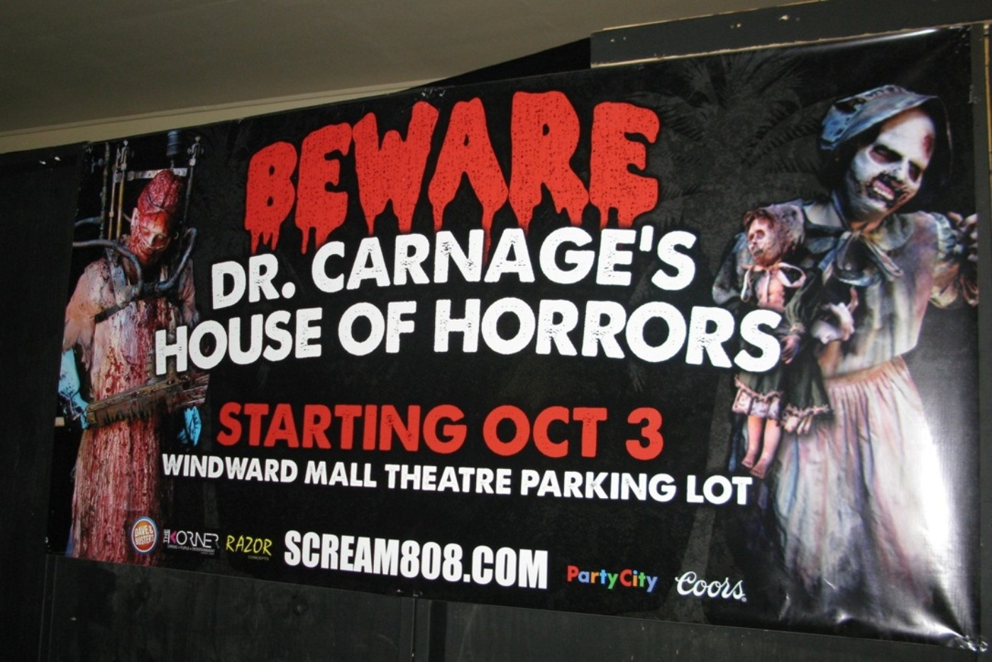 Dr. Carnage's House of Horrors