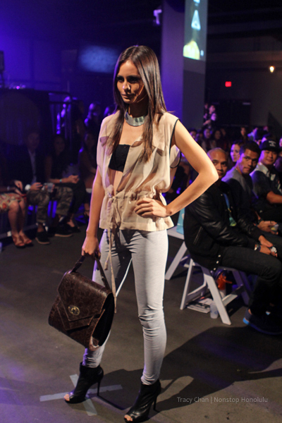 Matt Bruening B L Λ Q Fashion Show