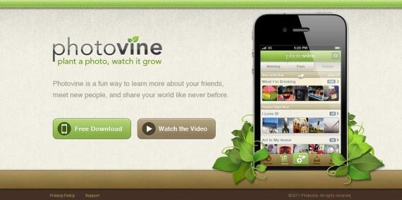 Photovine Website