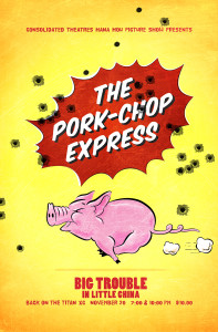 The Pork-Chop Express 11x17