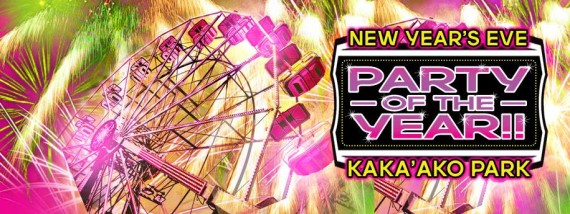 Party of the Year banner