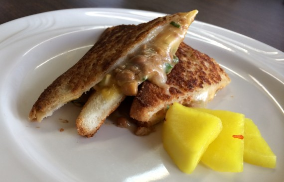 natto grilled cheese