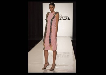 The winning look seemed more futuristic instead of fashion forward.