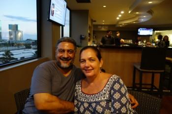 Moumen el Hajj and Holly Hadsell