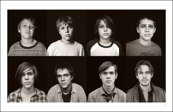 "Photo by Matt Lankes from the book ""Boyhood Twelve Years on Film."""