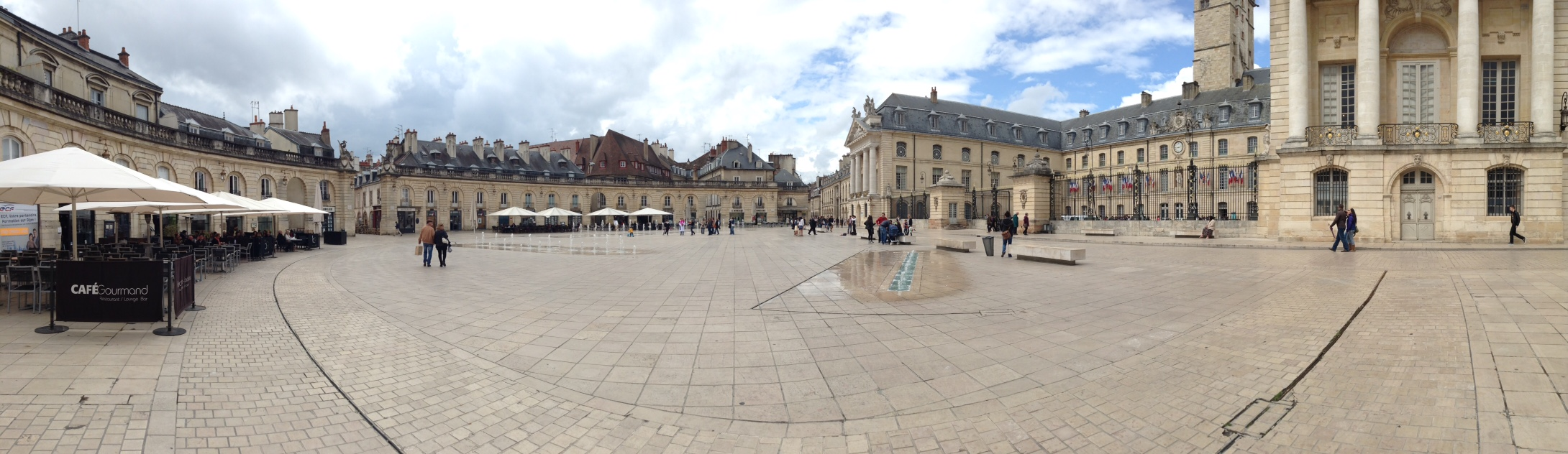 Place de la Liberation, Dijon.