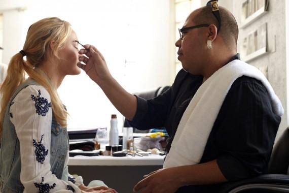 Pastels makeup concept by eyebrow and makeup expert Rene.