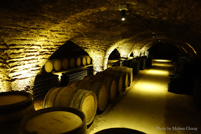 The Patriarche caves were named the most beautiful in Burgundy.