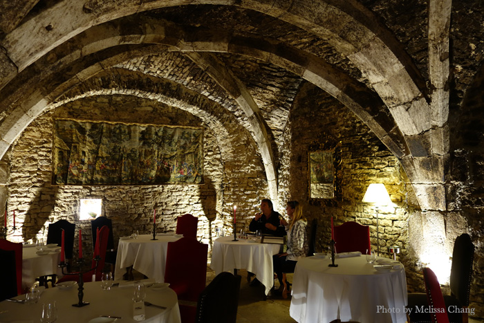 Inside Abbaye de Maizières.