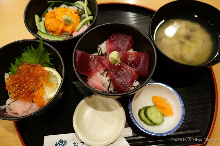One of the sashimi lunch sets at O Sakana Shokudo in Asagaya.