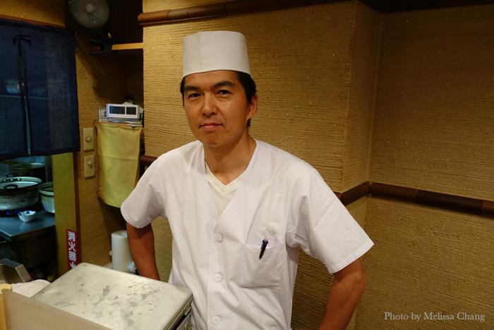 Chef Takashi Izawa at O Sakana Shokudo in Asagaya.