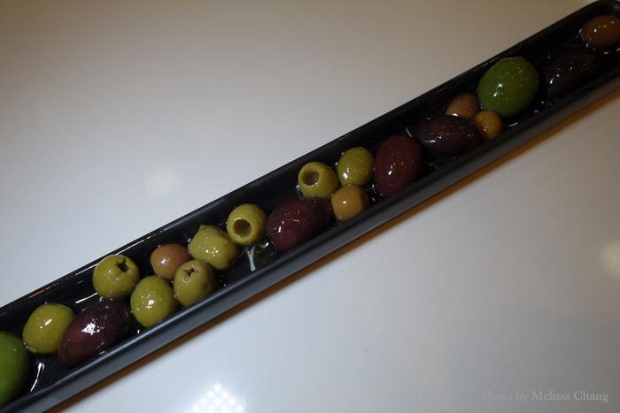 Hand full of olives, $7.