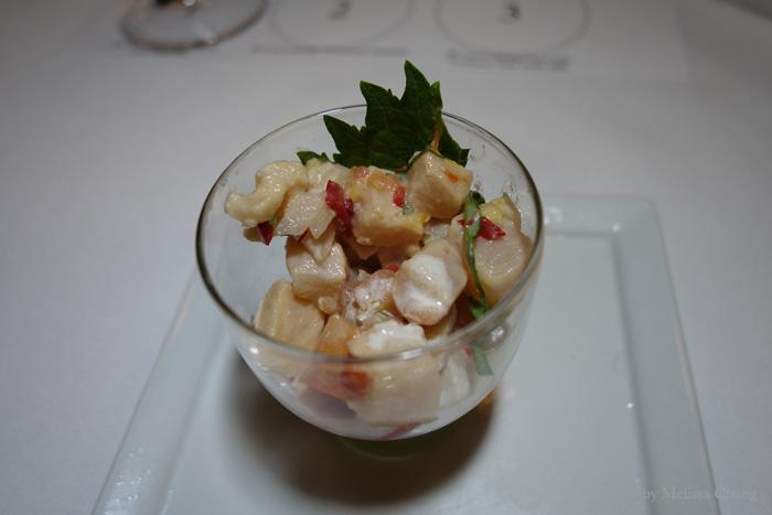 Marlin ceviche at Sansei.