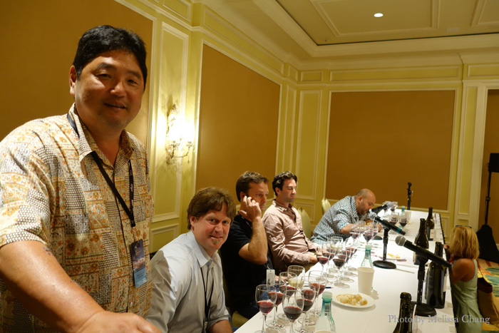 "Master somm Chuck Furuya and industry ""game changers."""