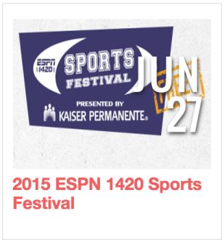2015 ESPN 1420 Sports Festival