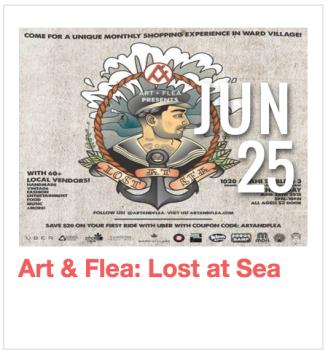 Art & Flea: Lost at Sea