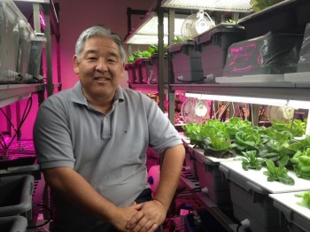 Kerry Kakazu has Hawaii's first urban/vertical farm.