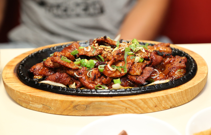 Another personal favorite. Sadie's spicy pork ($13.95) is charbroiled, producing a smoky flavor to go with the spice.