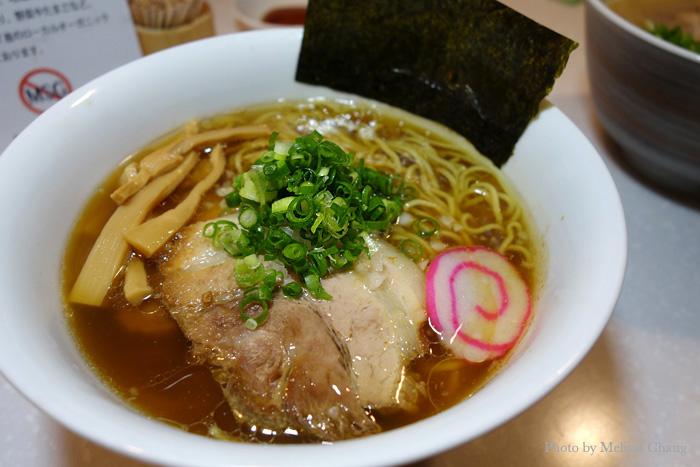 Assari shoyu ramen at Tsurumen, $10.