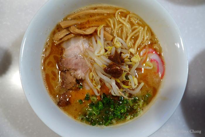 Spicy red miso women at Tsurumen, $11.50.