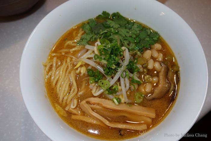 Vegetarian miso ramen at Tsurumen, $11.