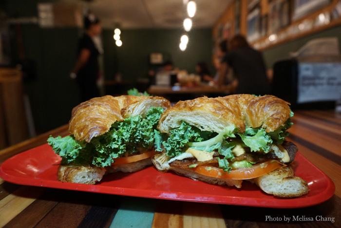 The BALT sandwich at HiBlend, $10.95.