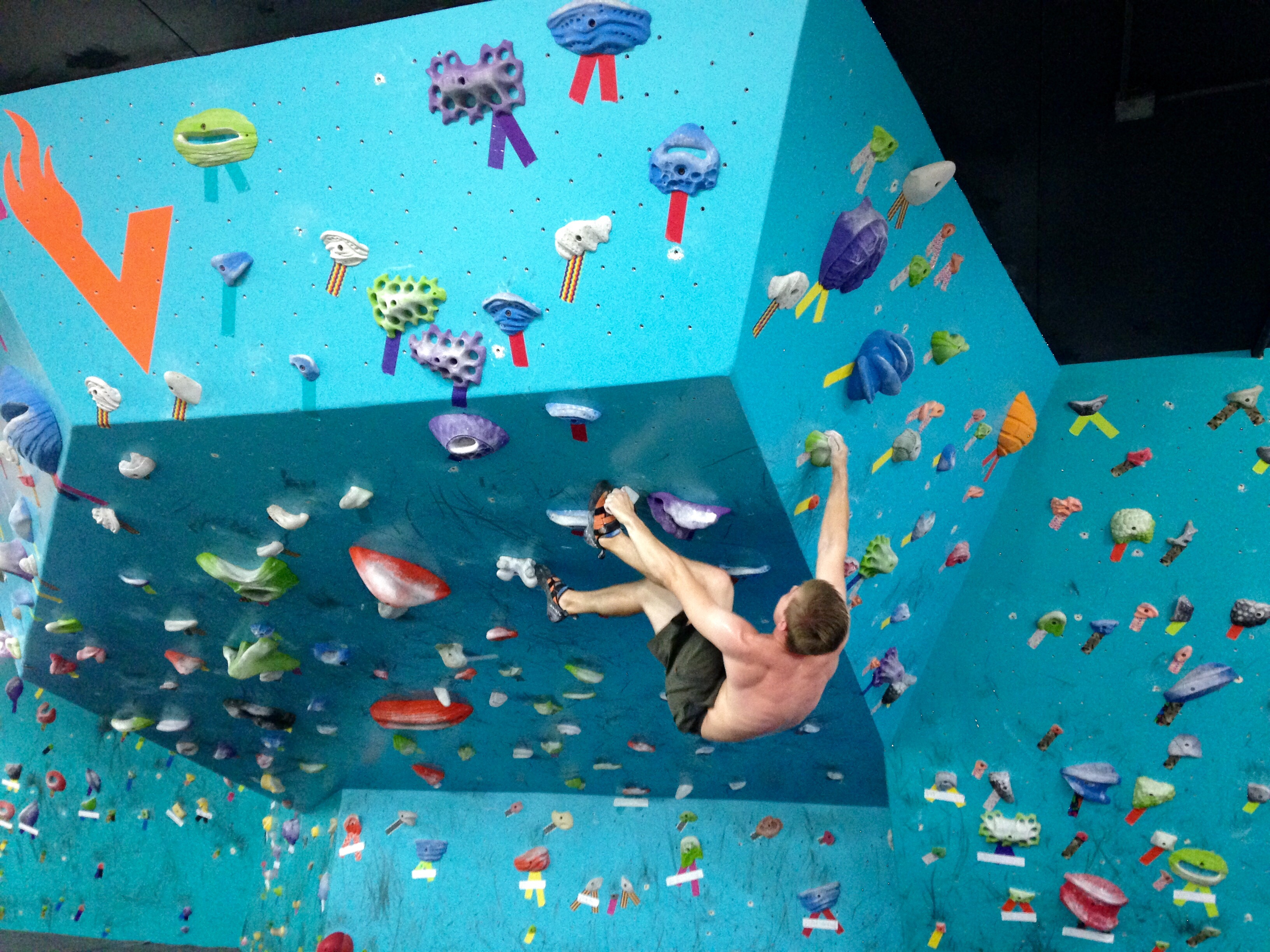 How Hard Is Indoor Climbing Really Frolic Hawaii