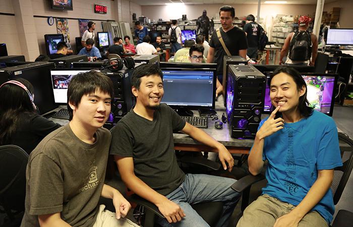 The Cafe.gg team: Jordan Takemoto, Jon Kawasaki and Jonathan Kim (missing: Quincy Solano)