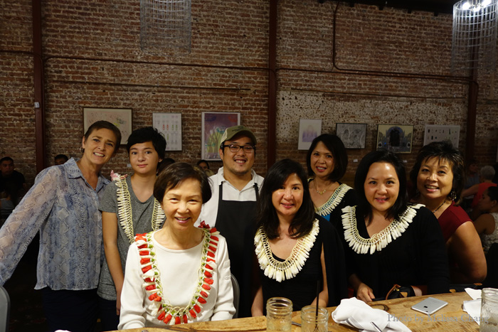 My California cousins with chef Andrew Le of The Pig & The Lady.