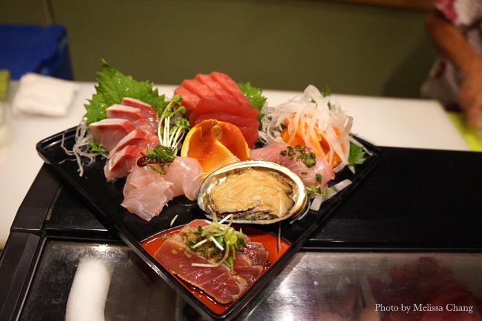 Sashimi omakase, $30.