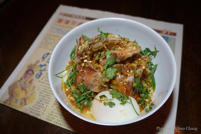Chili crab noodles, $14.