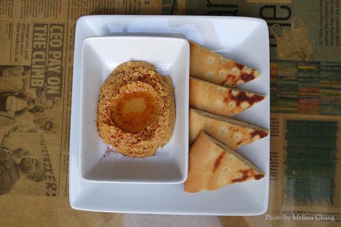 Hummus, $8.