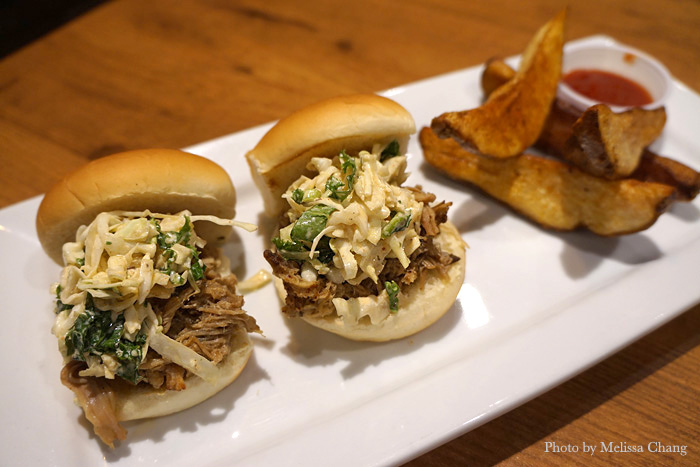 Pork sliders, evolved.