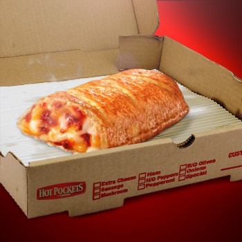 Official snack of gamers everywhere. Photo courtesy of Hot Pockets on Facebook