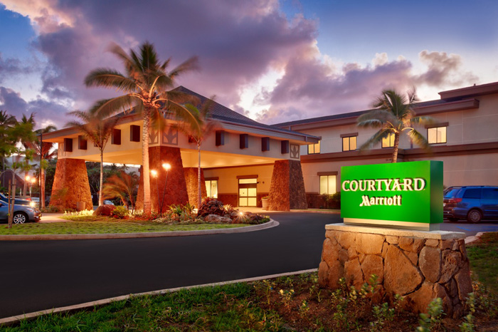 The new Courtyard by Marriott North Shore Oahu in Laie.