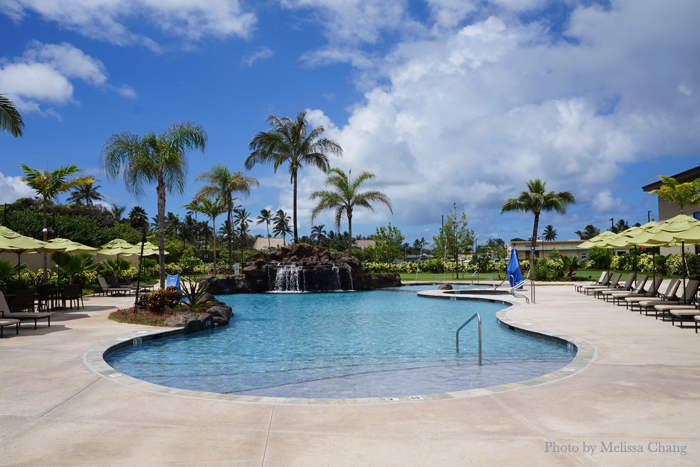 The Courtyard by Marriott North Shore Oahu's pool.