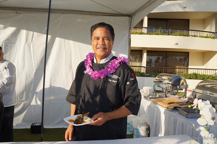 Chef Greg Gaspar of the Sheraton Maui Resort & Spa.
