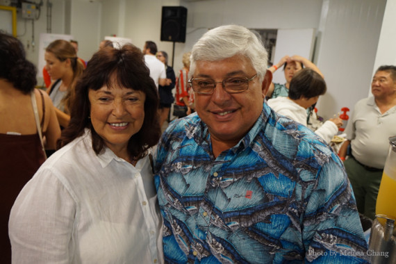 Chef Roger Dikon and wife, Mary