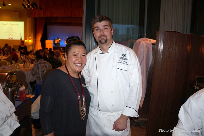 Sheraton Princess Kaiulani Chef Chris Kirksey created three items for the event.