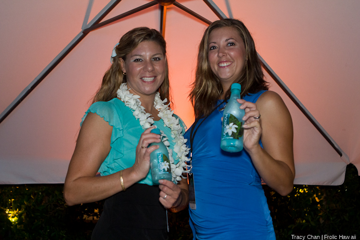 The Hawaiian Springs girls provided a welcome relief from the heat.
