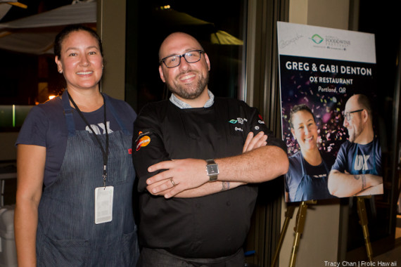 Greg and Gabi Denton - Ox Restaurant, Portland, OR