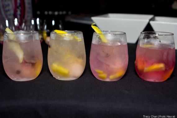 Cocktails by Debbi Peek of Southern Wine & Spirits.