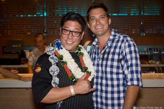 Hosting Chef Jon Matsubara of Japengo.
