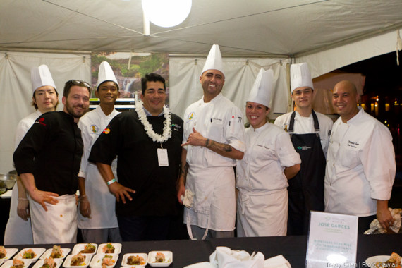 Chef Jose Garces and his crew.