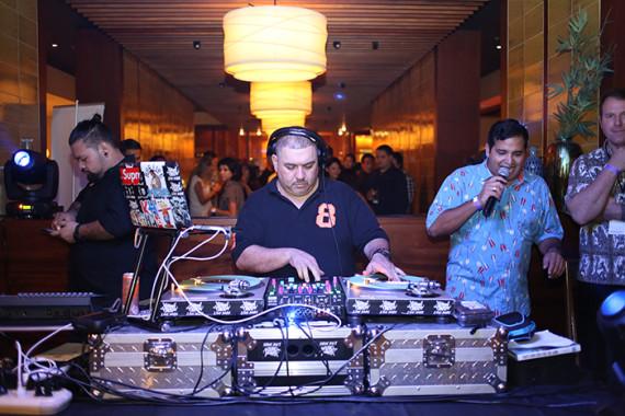 DJ Jimmy Taco and Emcee Maleko.
