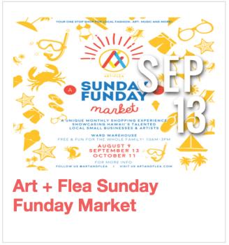 Art + Flea Sunday Funday Market