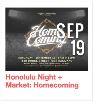 Honolulu Night + Market
