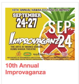 10th Annual Improvaganza