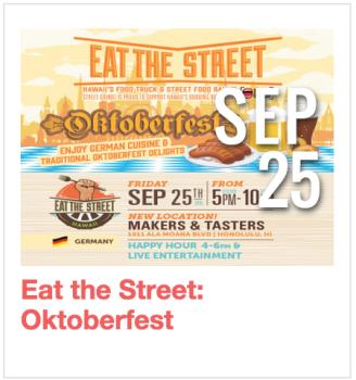 Eat the Street: Oktoberfest